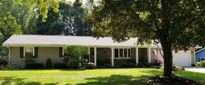 Evansville Single Family Home For Sale: 443 Meadow Ln