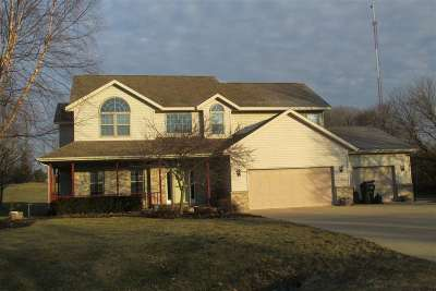 Dodge County Single Family Home For Sale: W8006 Brandon Ct