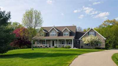 Mount Horeb Single Family Home For Sale: 8584 Klevenville-Riley Rd
