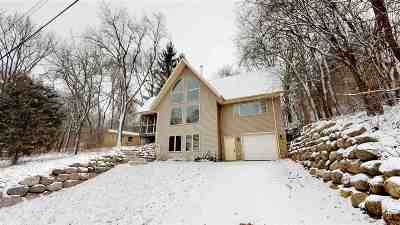Walworth County Single Family Home For Sale: N7842 E Lakeshore Dr