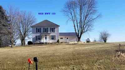 Cassville Single Family Home For Sale: 6836 Hwy 133