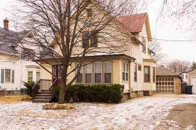 Janesville Single Family Home For Sale: 216 N Chatham St