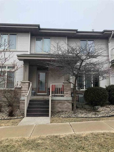 Madison Condo/Townhouse For Sale: 8267 Starr Grass Dr