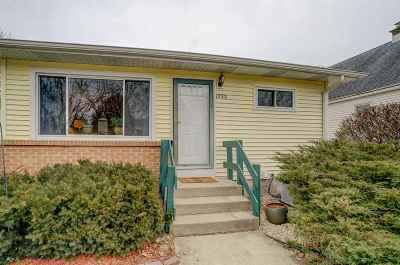 Madison Single Family Home For Sale: 1733 Sheridan Dr