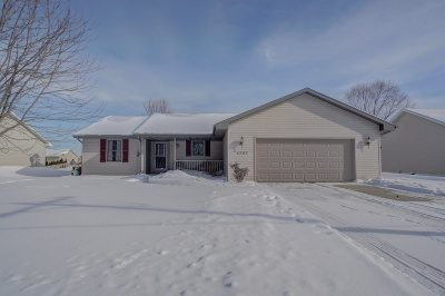 Janesville Single Family Home For Sale: 4262 Newville Rd