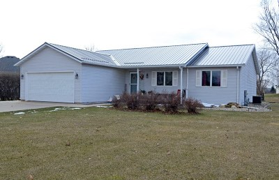 Pardeeville Single Family Home For Sale: N6735 Donlin Dr