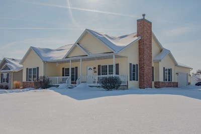 Janesville Single Family Home For Sale: 4271 Braxton Dr