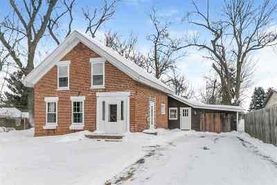 Evansville Single Family Home For Sale: 11332 N Hwy 138