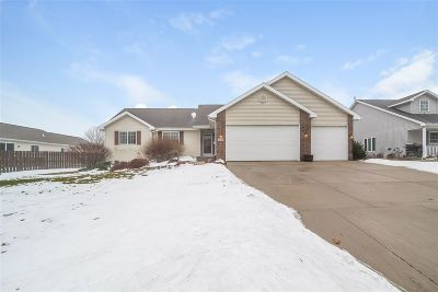 Sun Prairie WI Single Family Home For Sale: $319,900