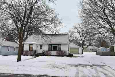 Beloit Single Family Home For Sale: 1233 Townline Ave