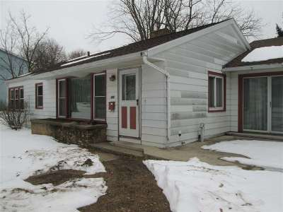 Rock County Single Family Home For Sale: 444 S 1st St