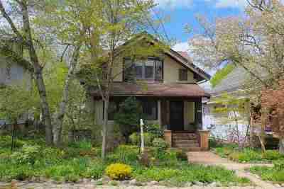 Madison Single Family Home For Sale: 1632 Adams St