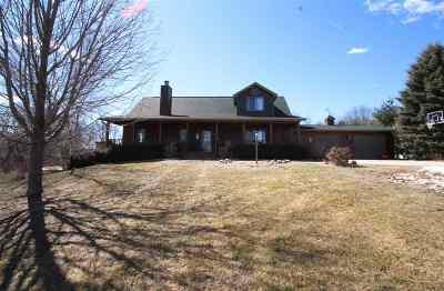 Waterloo Single Family Home For Sale: N8295 Hwy 89