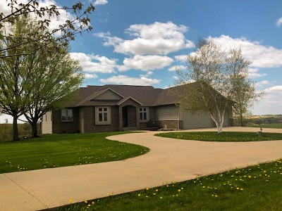 Mount Horeb Single Family Home For Sale: 9846 County Road A