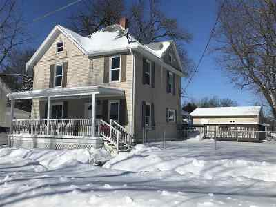 Stoughton WI Single Family Home For Sale: $239,900