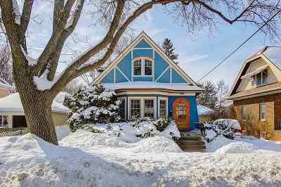 Madison Single Family Home For Sale: 612 Rogers St