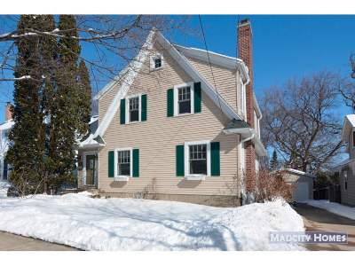 Madison WI Single Family Home For Sale: $469,900