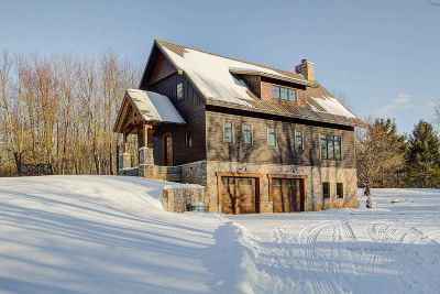 Sauk County Single Family Home For Sale: E7931 Maple Hill Rd
