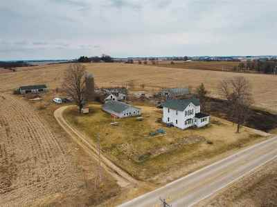 Green County Single Family Home For Sale: W8346 County Road B
