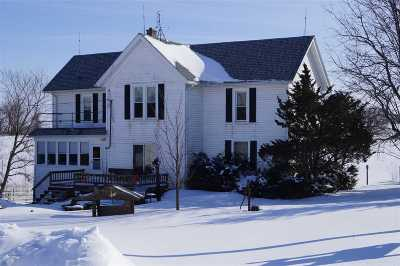 Green County Single Family Home For Sale: N7226 County Road J