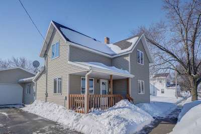 Dane County Single Family Home For Sale: 105 W Main St
