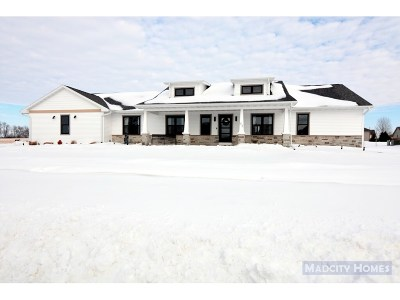 Rock County Single Family Home For Sale: 46 N Windmill Ridge Rd