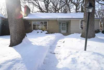 Madison Single Family Home For Sale: 814 Ottawa Tr