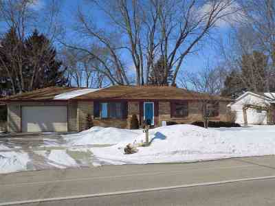 Janesville WI Single Family Home For Sale: $185,000
