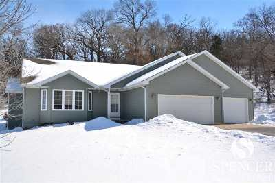 Green County Single Family Home For Sale: N9040 Blue Vista Ln