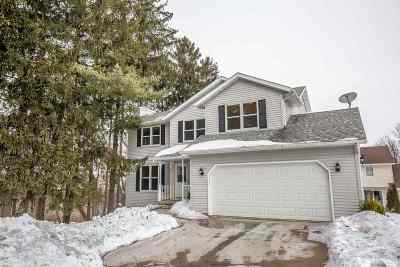 Fitchburg Single Family Home For Sale: 6106 Pine Cone Way