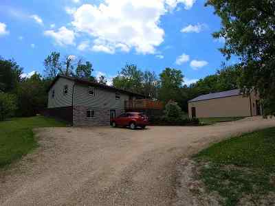 Pardeeville Single Family Home For Sale: N5462 Dunning Rd