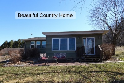 Iowa County Single Family Home For Sale: 5057 County Road H