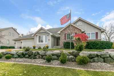 Oregon WI Single Family Home For Sale: $450,000