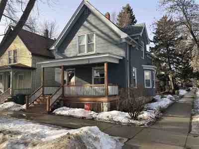 Madison Single Family Home For Sale: 124 N Brearly St