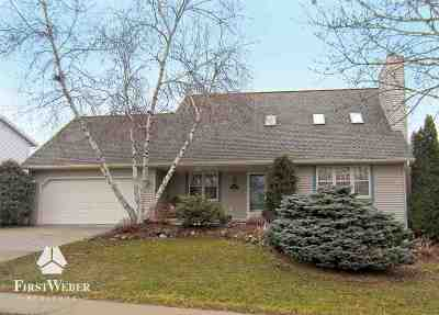 Stoughton WI Single Family Home For Sale: $279,900