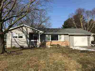 Platteville Single Family Home For Sale: 1040 Eastman St