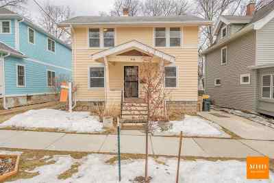 Madison Single Family Home For Sale: 621 Sheldon St