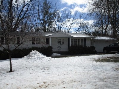 Baraboo WI Single Family Home For Sale: $149,000
