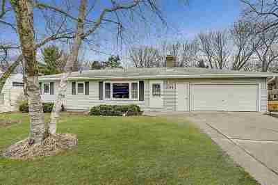 Madison Single Family Home For Sale: 1102 Troy Dr