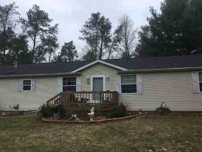 Wisconsin Dells Single Family Home For Sale: 160 Northwoods Cir