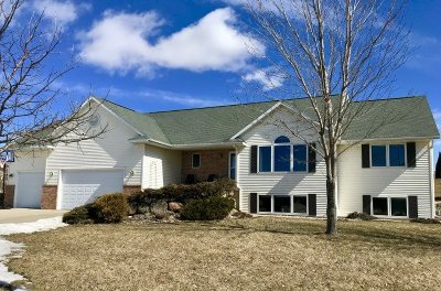 Deforest WI Single Family Home For Sale: $359,900