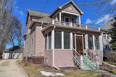 Stoughton Single Family Home For Sale: 1116 Giles Street