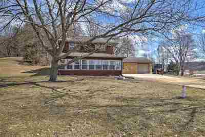 Iowa County Single Family Home For Sale: 7015 County Road K