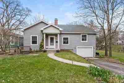 Madison Single Family Home For Sale: 3637 Gregory St