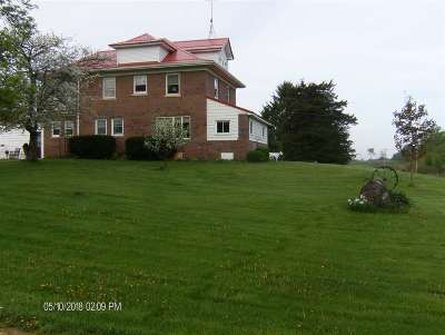 Green County Single Family Home For Sale: W6967 Franklin Rd