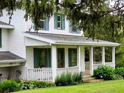 Green County Single Family Home For Sale: W8917 Buckhorn Rd