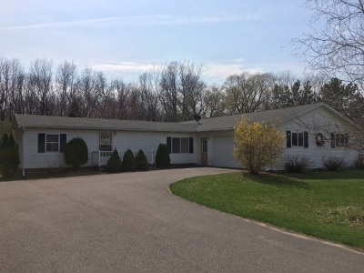 Baraboo Single Family Home For Sale: S4683 Raven Acres Dr