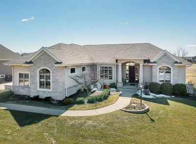 Verona Single Family Home For Sale: 9517 Hill Creek Dr
