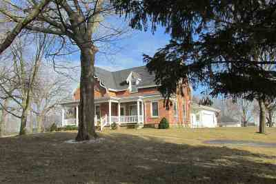 Dodge County Single Family Home For Sale: W5882 Hwy 33