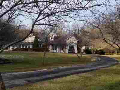 Green County Single Family Home For Sale: W5620 Spring Valley Rd